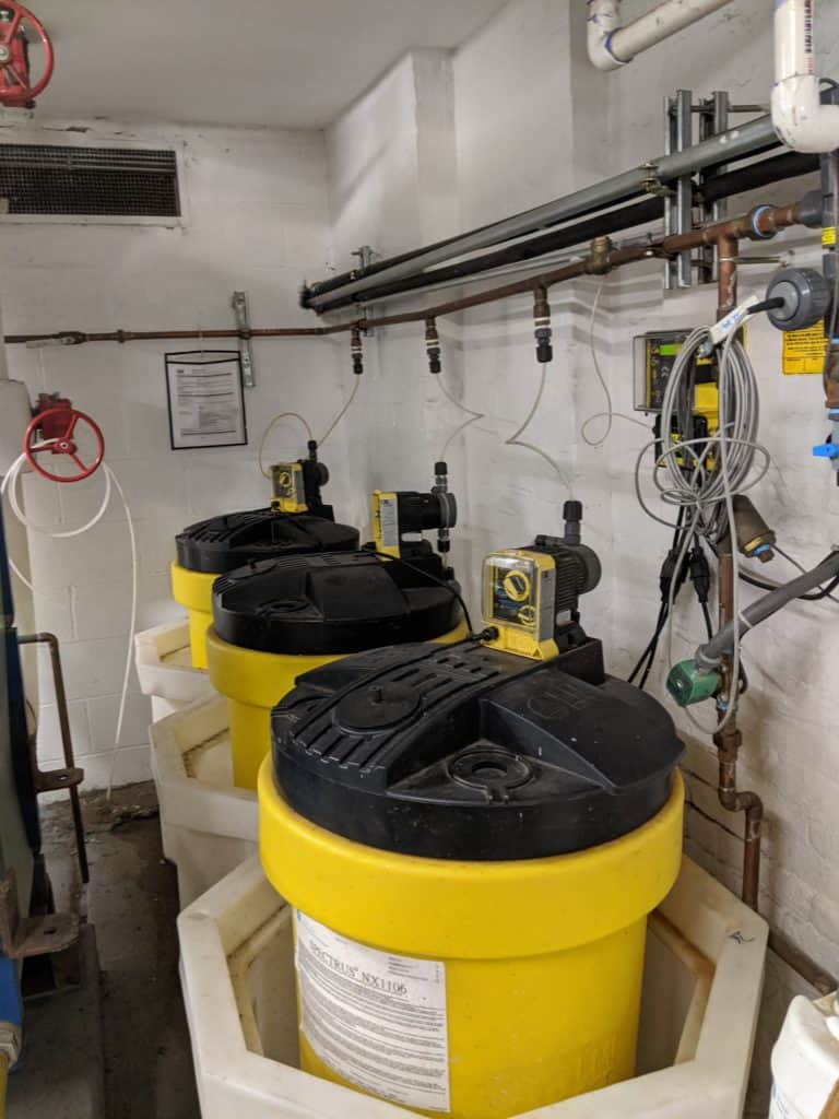 Chemical Cleaning Tanks